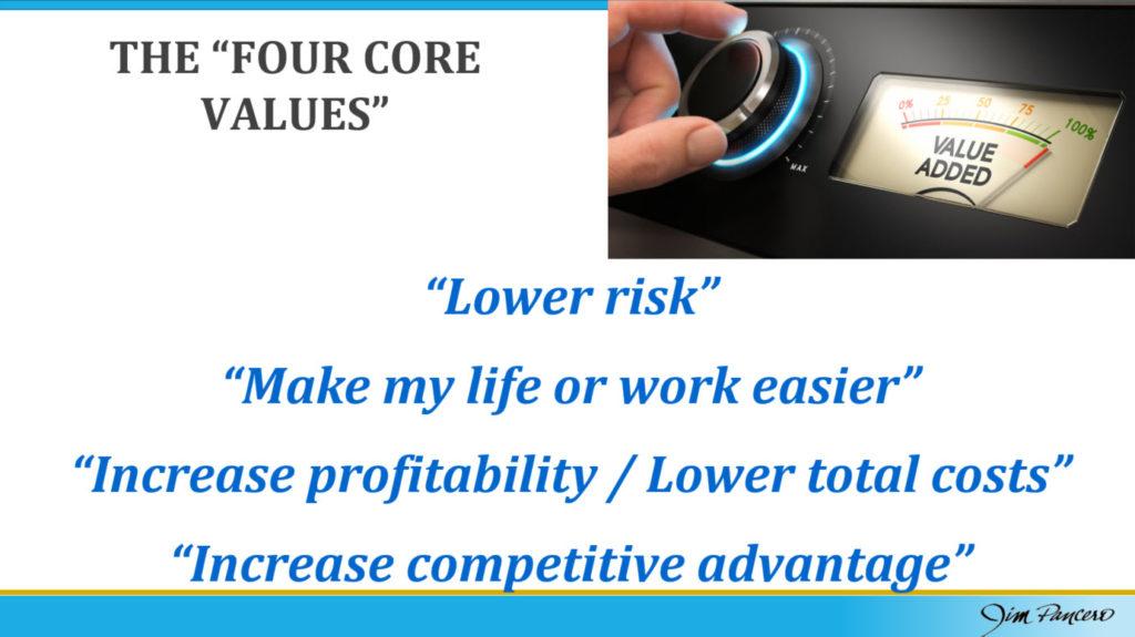 Four Core Values